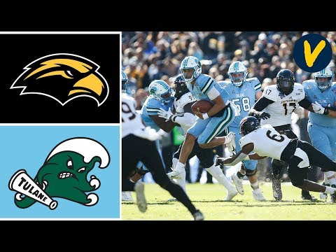 Southern Miss vs Tulane Highlights | 2020 Armed Forces Bowl Highlights | College Football