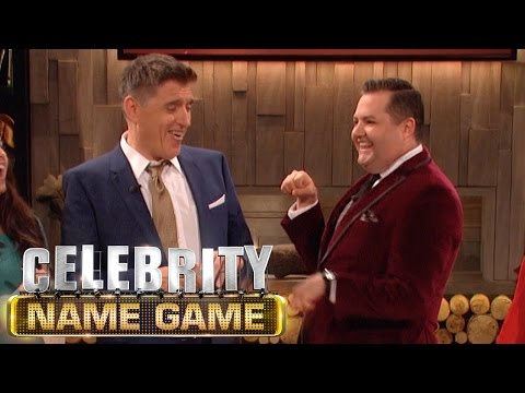 Ross Mathews Is Not Much Of A Boxer - Celebrity Name Game