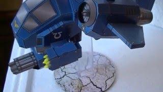 Warhammer 40K Ultramarines Papercraft