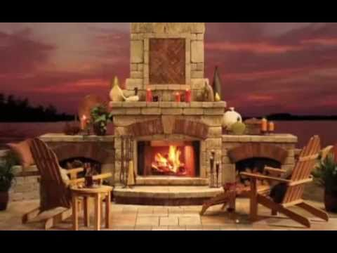 Outdoor Living Paradise   Decks, Patios, Fireplaces, Firepits U0026 More!    YouTube