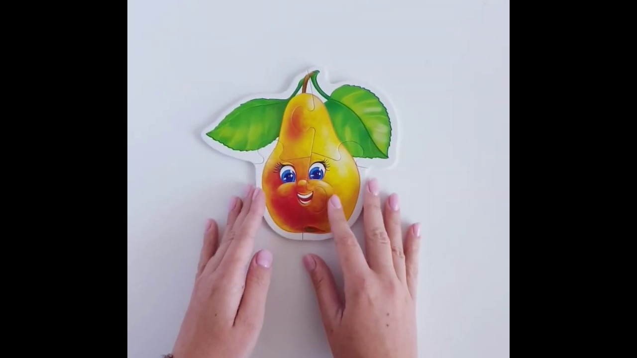 Vladi Toys VT1106-04 Мягкие пазлы Baby puzzle Фрукты