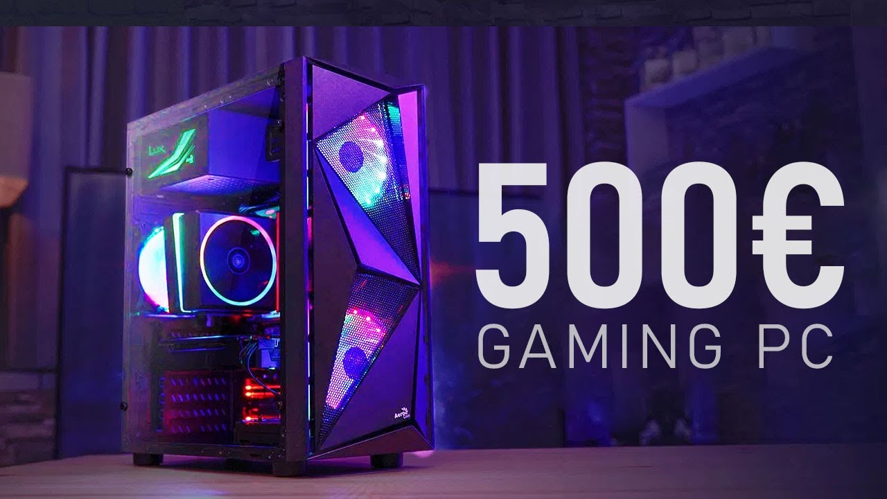 Der Beste 500 Euro Gaming Pc 2020 Deutschlands Youtube
