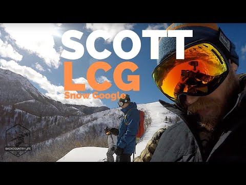 2019 SCOTT LCG GOGGLE Box Opening