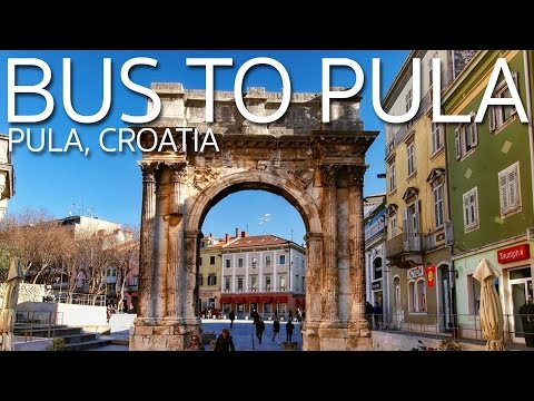 Why My Bus Ride Was 3 Hours Longer   Bus from Zagreb to Pula Croatia