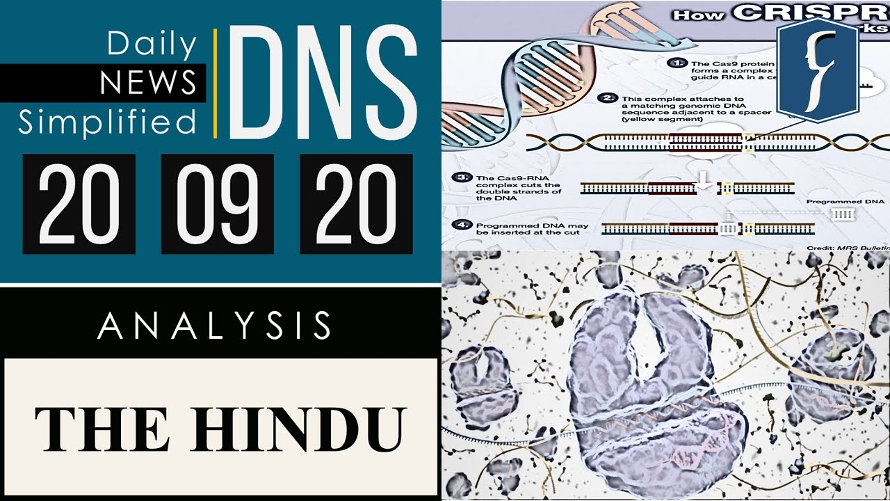 Download THE HINDU Analysis, 20 September 2020 (Daily News Analysis for UPSC) – DNS