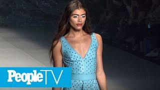 The 22-year-old brazilian model is joining forces with victoria's secret pink for a new campaign.subscribe to peopletv ►► http://bit.ly/subscribepeopletvpeop...