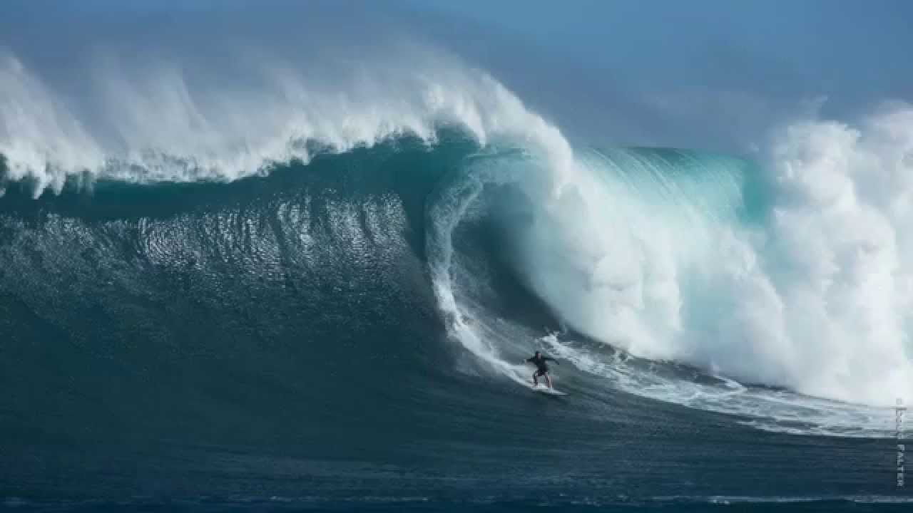 (HD) Jaws Paddle Wave of a Lifetime! Trevor Sven Carlson