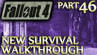 Ⓦ Fallout 4 New Survival Walkthrough ▪ Part 46: Reunions, Fort Hagen, Confronting Kellogg