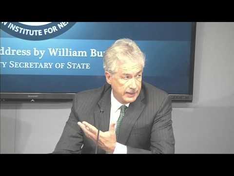 Remarks by William Burns, Deputy Secretary of State