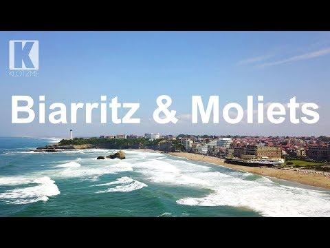 Biarritz und Moliets von oben | dji Mavic Pro