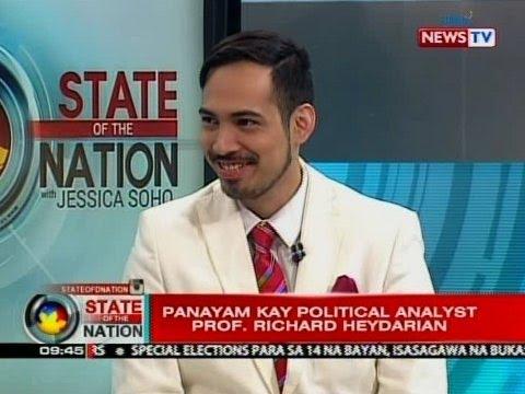 SONA: Panayam kay political analyst Prof. Richard Heydarian