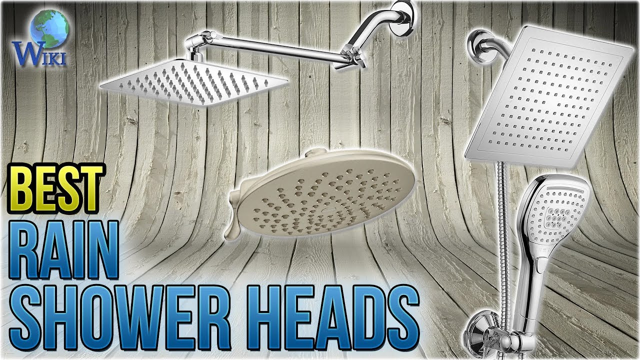 10 Best Rain Shower Heads 2018
