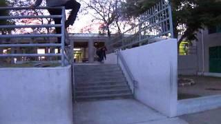 Juan Moreno skateboarding