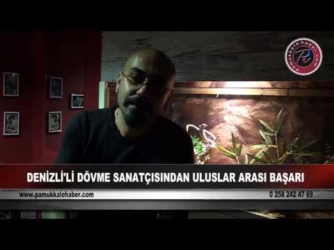 Denizli'li Dövme Sanatçısı Uluslararası Başarıya İmza Attı (PAMUKKALEHABERTV)