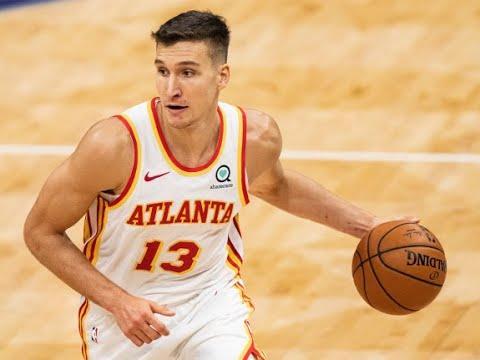 Sore knee threatens Bogdanovic's status for Hawks in Game 7