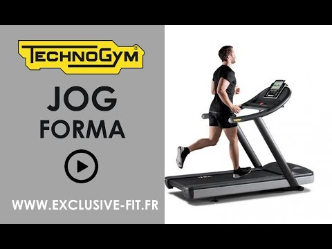 tapis de course technogym jog forma exclusive fit