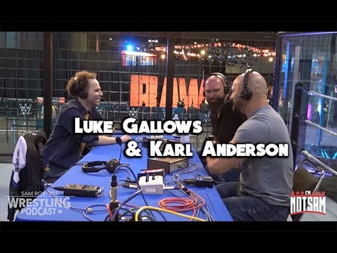 Luke Gallows & Karl Anderson - Southpaw Regional, Rock n Roll Express, etc - Sam Roberts