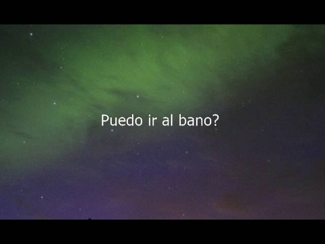 How To Say Can I Go To The Bathroom In Spanish Youtube