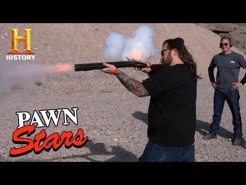 Pawn Stars: TOP 10 RARE GUNS FIRED | History