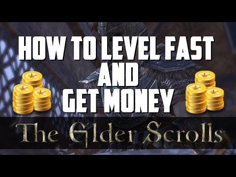 Elder Scrolls Online: How To Level Up FAST And Get MONEY (BEST Blacksmiting Trick/Glitch)