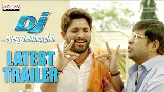DJ - Duvvada Jagannadham Latest Trailer || AlluArjun, Pooja Hegde, Harish Shankar, DSP