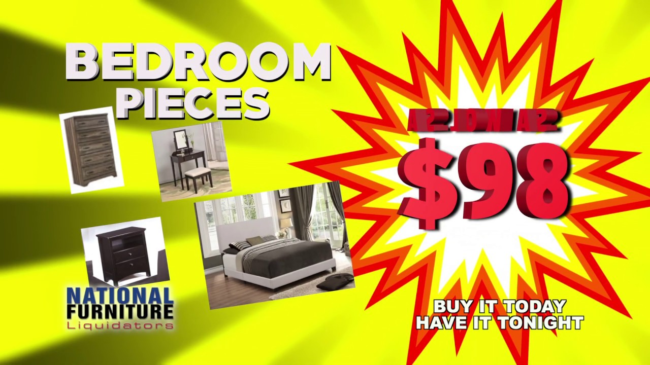 Hurry! National Furniture Liquidators - END OF YEAR CLEARANCE - El Paso, TX