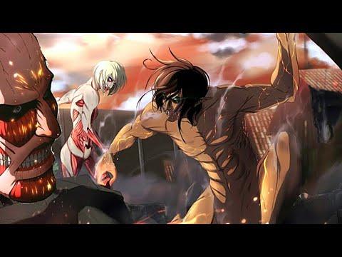 Attack On Titan AMV Shingeki No Kyojin • EREN Vs REINER • Rise