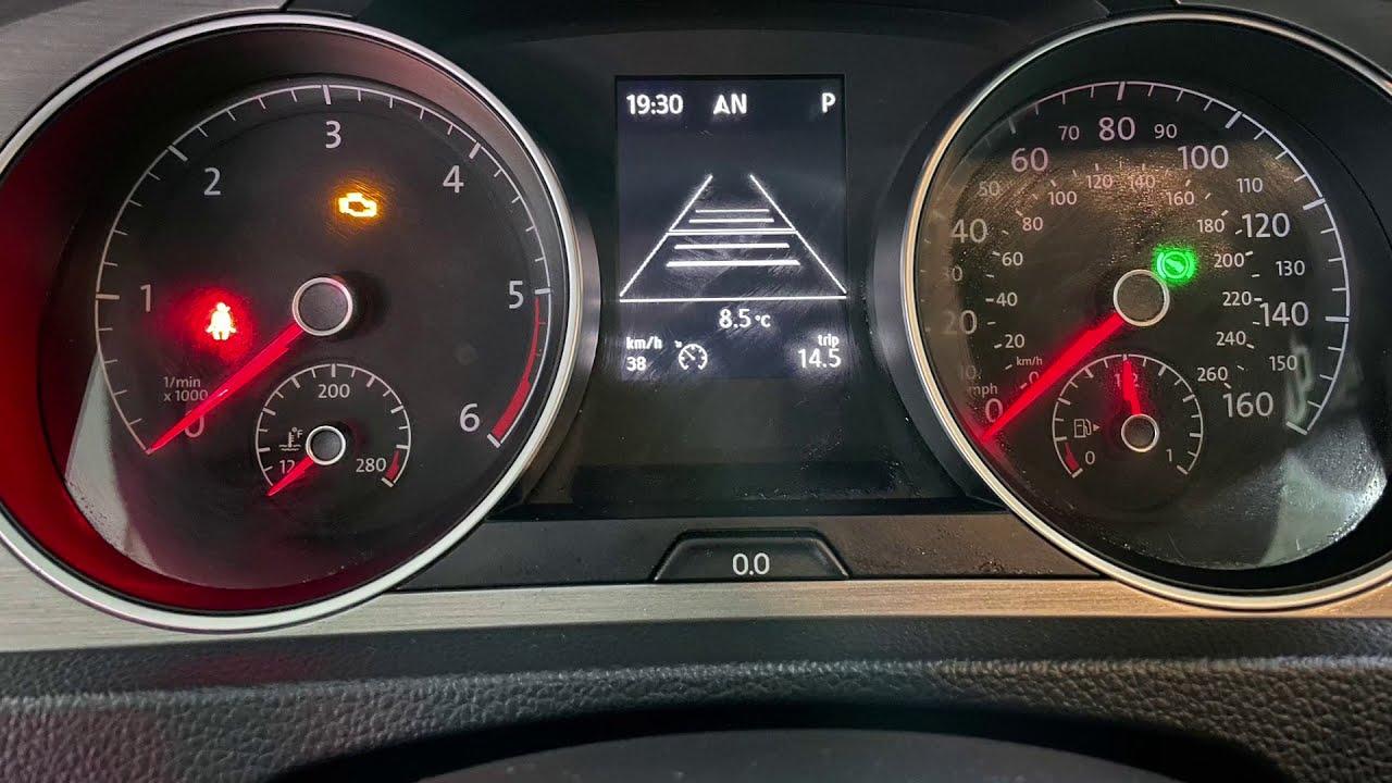 Ретрофит. Адаптивный круиз-контроль. VW Golf 7 Sportwagen S 2.0TDI DSG6 2015.