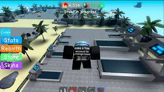 Roblox Weight Lifting Simulator 3 | How to workout and gain speed together