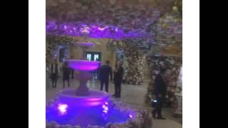 Оформление цветами на свадьбе Гуцериевых