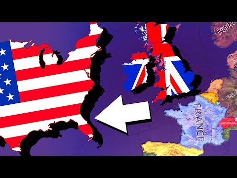 What If The UK Kept The USA? | Hearts Of Iron 4 [HOI4]