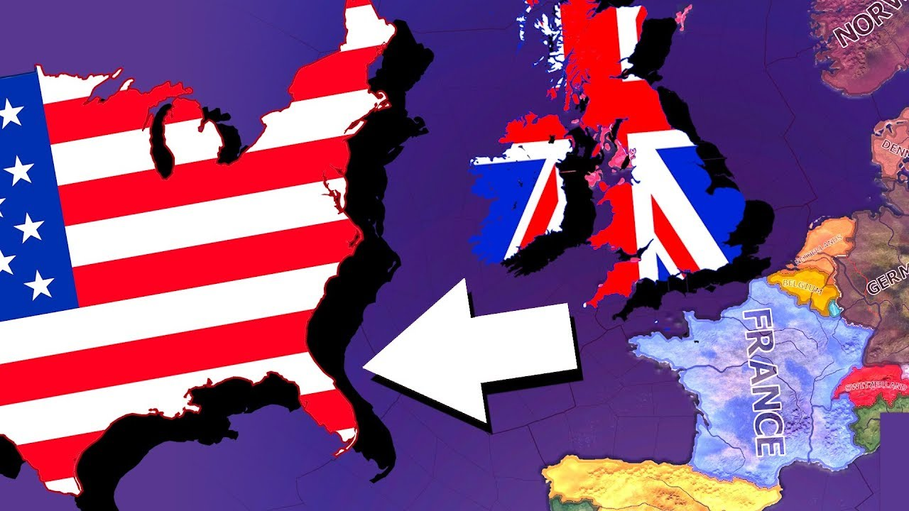 What if the UK Kept the USA? | Hearts of Iron 4 [HOI4