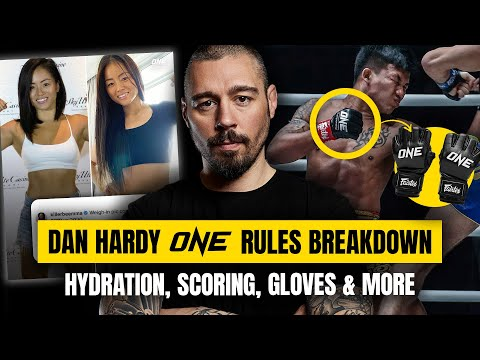 Dan Hardy Breaks Down ONE Rules | Hydration, Scoring & MORE