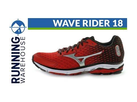 mizuno wave rider 18 red