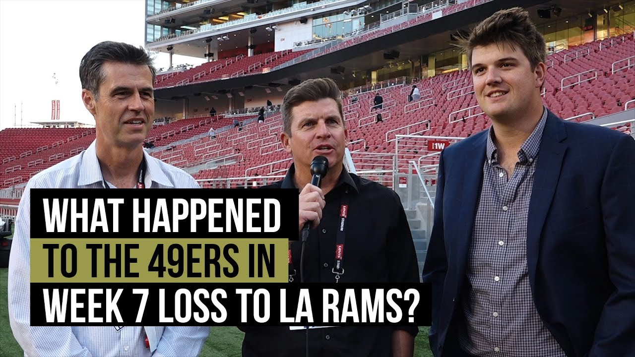 49ers get stunning fan support against Rams in Los Angeles