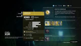 WHERE IS XUR COUNTDOWN! Destiny 2, loot and location (6/19/20)