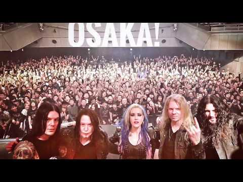 "Arch Enemy - ""Will To Power Tour 2018"" (Recap Osaka)"