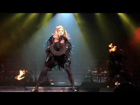 Lady Gaga - John Wayne live - Joanne world tour Houston