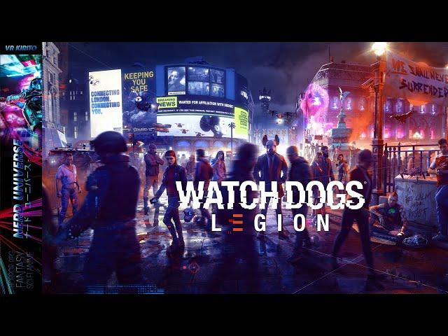 Watch Dogs: Legion - Erster Eindruck zum Release ☬ Deutsch | PC ☬ Livestream Tl. 1 von 2