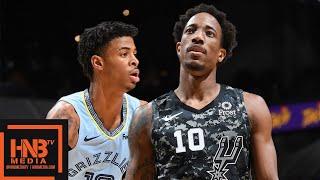San Antonio Spurs vs Memphis Grizzlies - Full Game Highlights | November 11, 2019-20 NBA Season