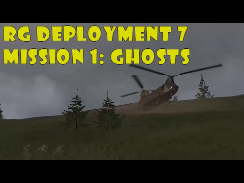 Arma 3 - Reality Gaming Milsim Deployment 7, mission 1: Ghosts