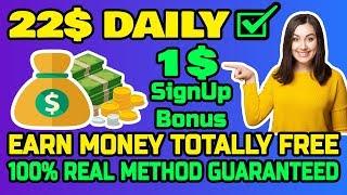 Earn money online 22 dollars daily worldwide real method guaranteed 2019