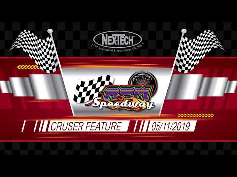 RPM Speedway Cruiser Feature May 11th 2019
