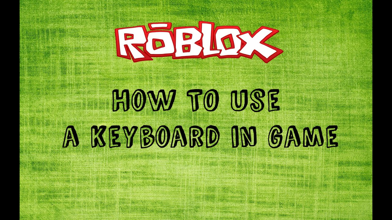 Roblox How To Use A Keyboard To Control On Mobile In Game Youtube