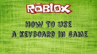 Roblox | Wie man eine Tastatur verwendet, um auf mobilem Spiel zu steuern