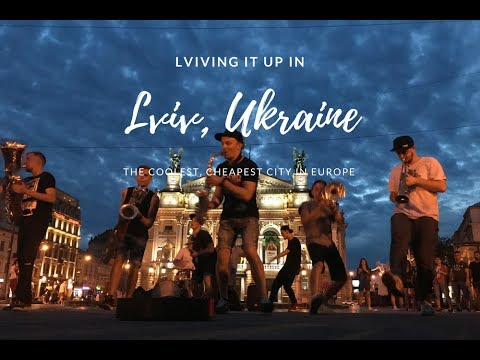 Living It Up in Lviv, Ukraine