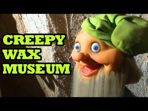 Creepy WAX MUSEUM Review | Josephine Tussaud Wax Museum Hot Springs, AR