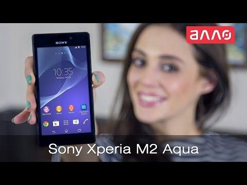 Видео-обзор смартфона Sony Xperia M2 Aqua