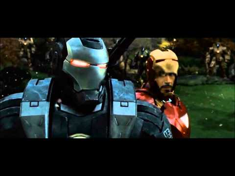 Iron man 2 scene with AC\DC War machine