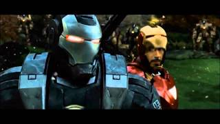 Iron man 2 scene with AC\DC War machine